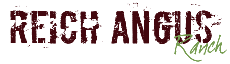 Reich Angus Ranch logo